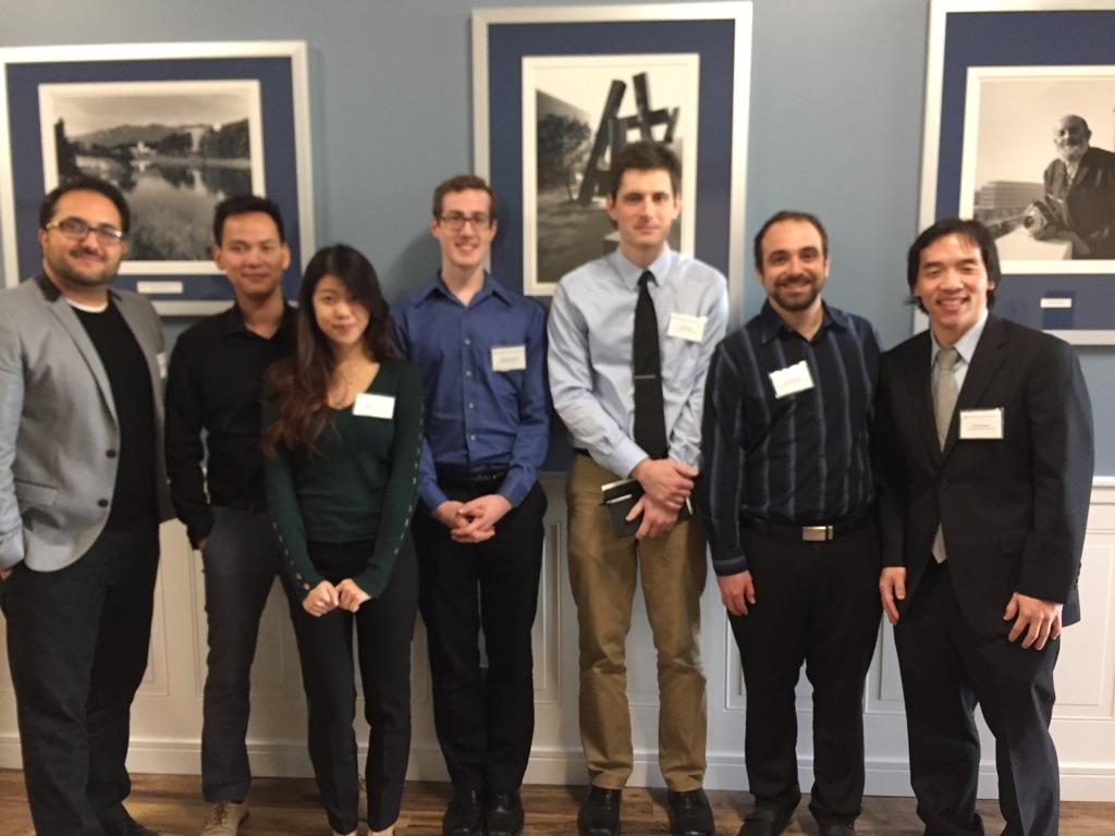 Graduate students present at 2017 Vertex Day